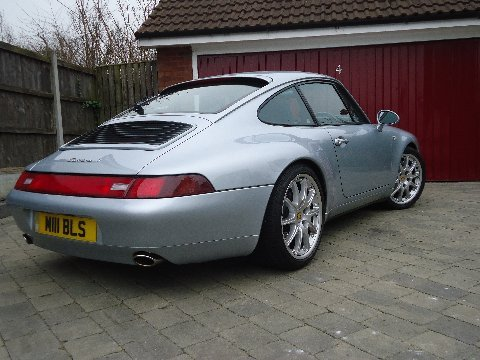 993 carrera 4 rear