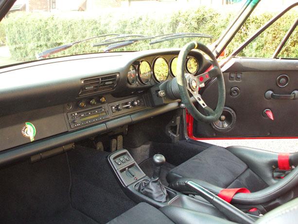 Porsche 964 Interior