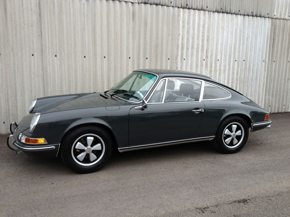 Porsche 911 69 Steve Mcqueen Replica Lee Mayor Restorations
