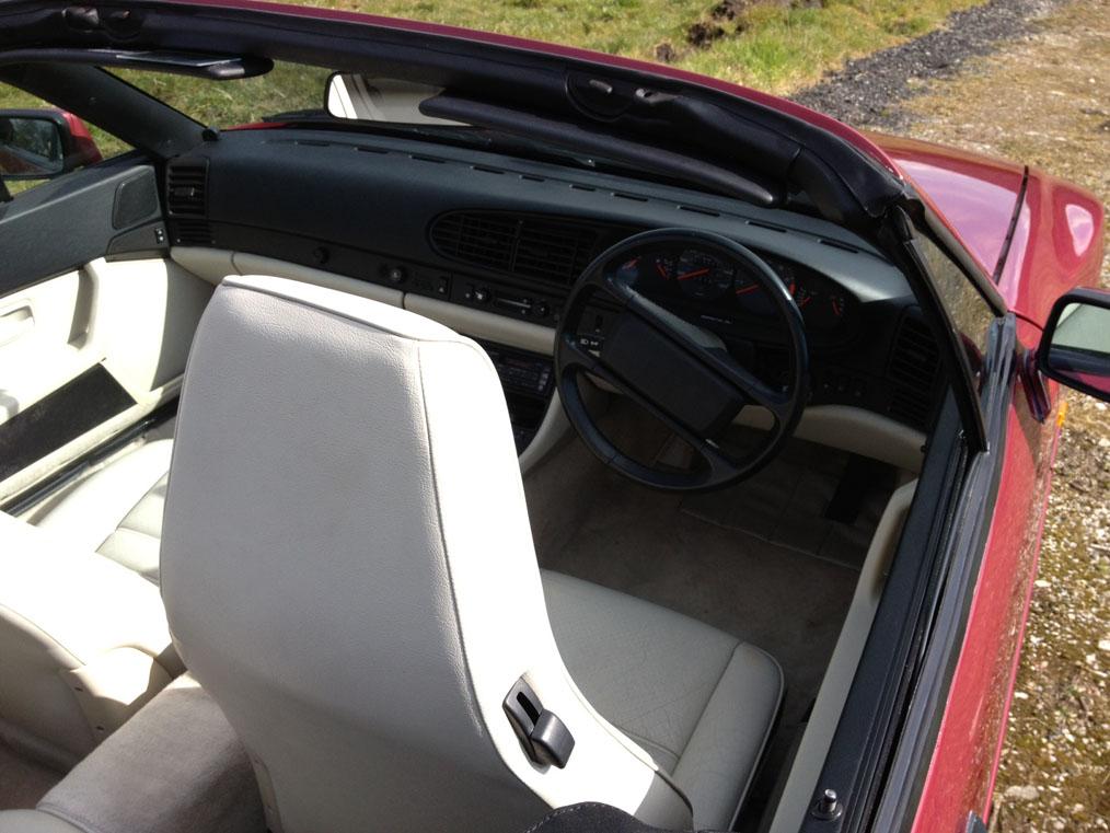Porsche 944 Seat