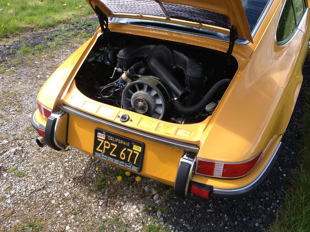 Porsche-911E-Engine