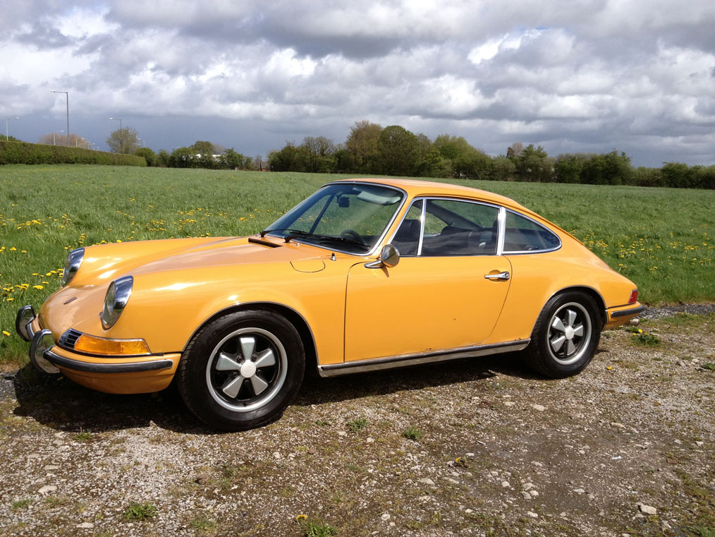 Porsche-911E-Left-Side