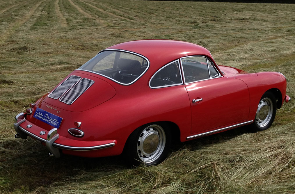 Porsche 356C Back Side