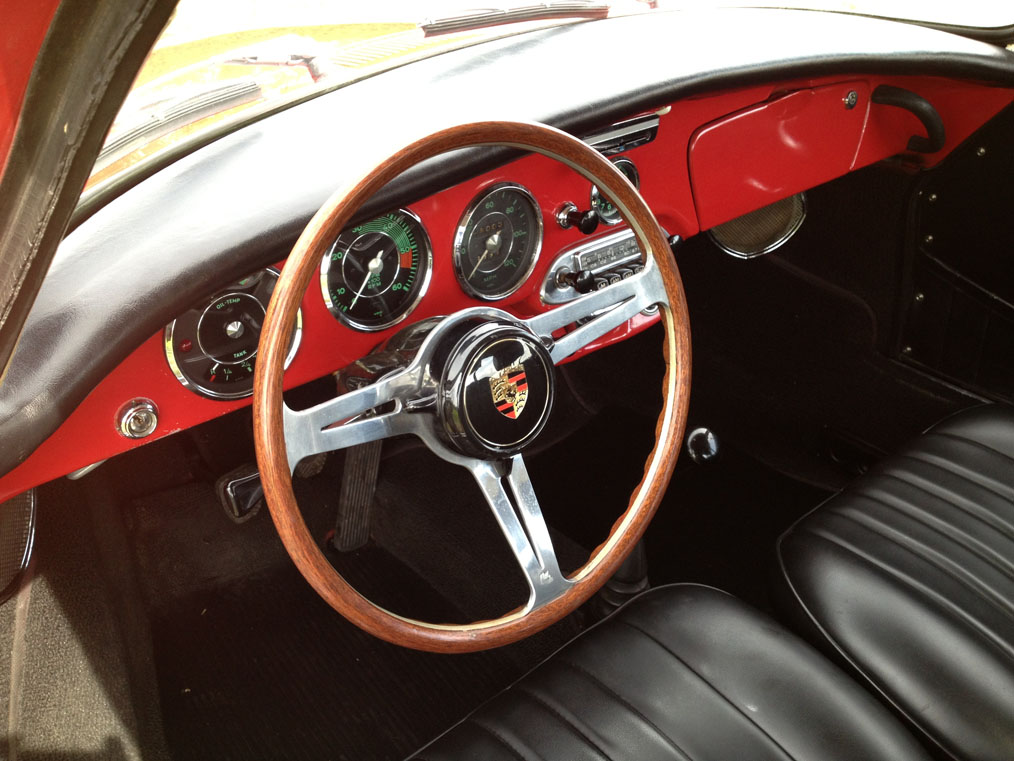 Porsche 356C Les Leston Steering Wheel