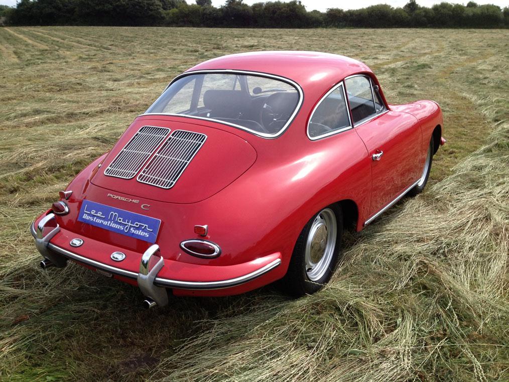 Porsche 356C Rear Top