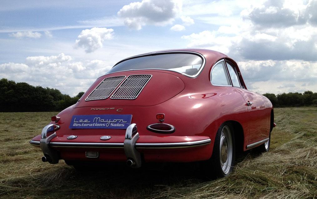 Porsche 356C Rear