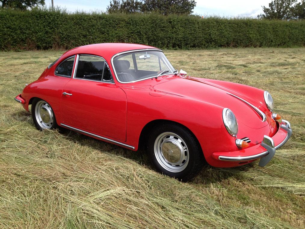 Porsche 356C Side