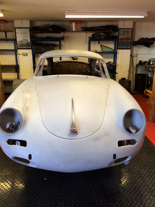 Porsche 356B '61 Bonnet Front