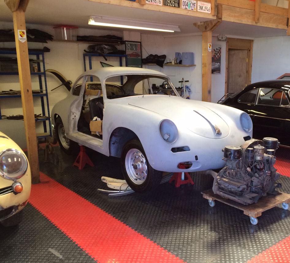 Porsche 356B '61 Engine