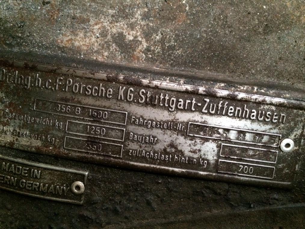 Porsche 356B '61 ID