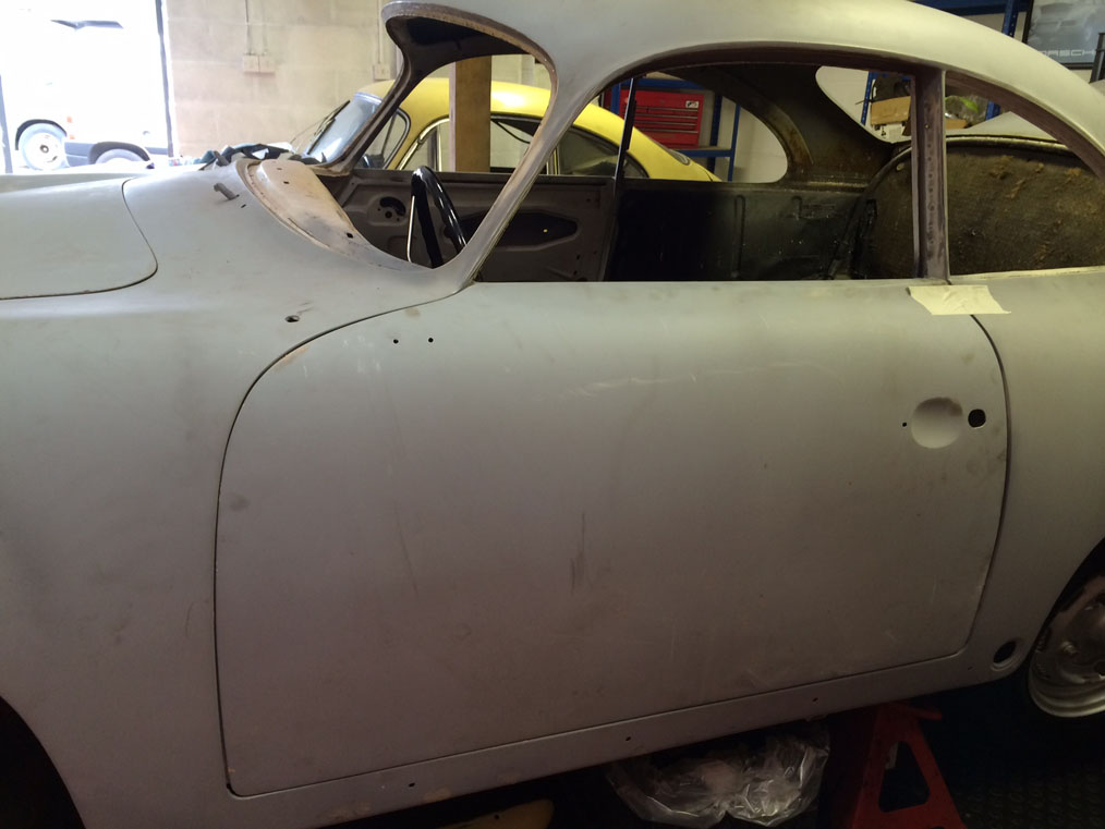 Porsche 356B '61 Left Door