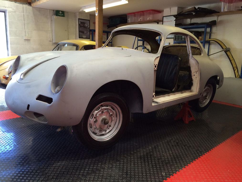 Porsche 356B '61 Left Side