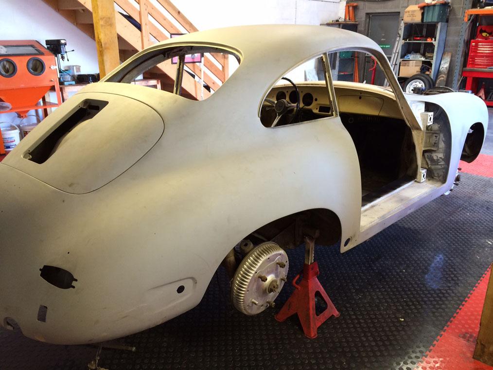 Porsche 356B '61 Rear