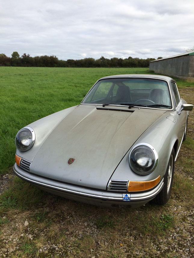 Porsche 911 T-E Project Front