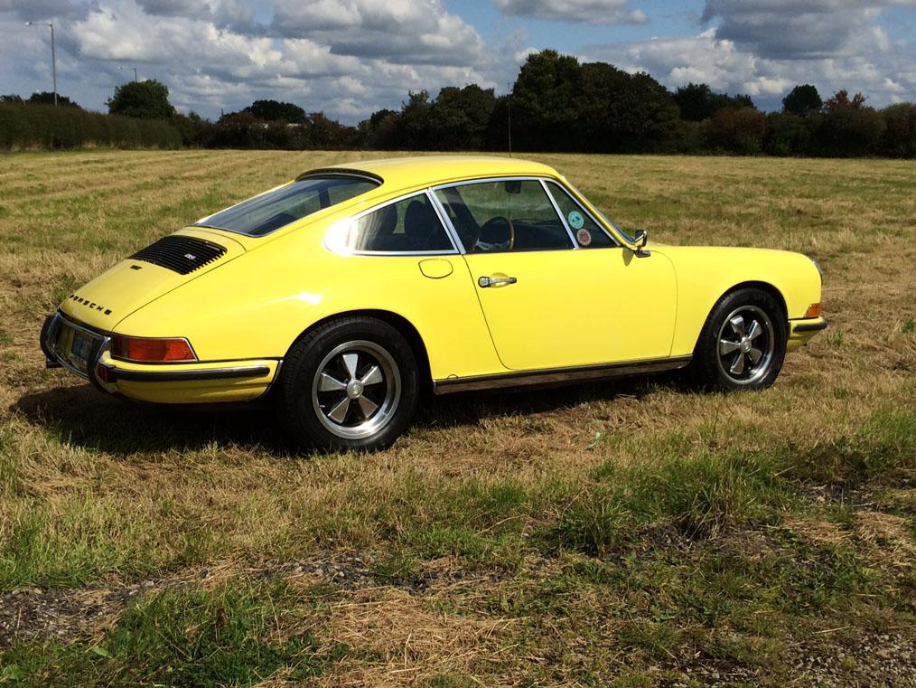 Porsche 911 T_E Side