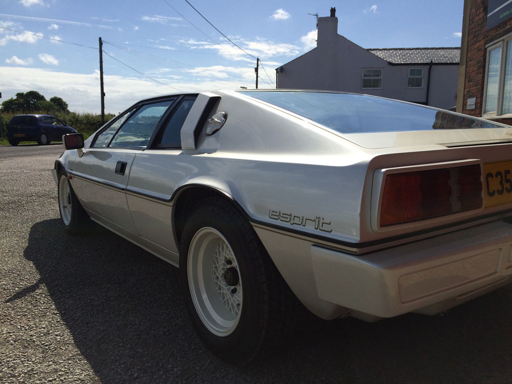 Lotus Esprit Back