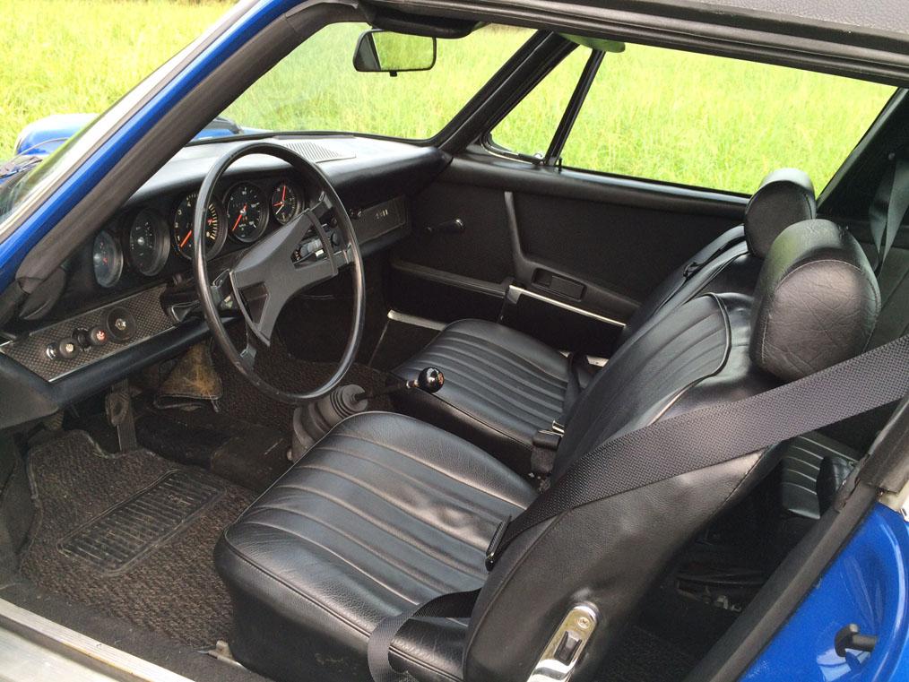 Porsche 911E Targa Interior