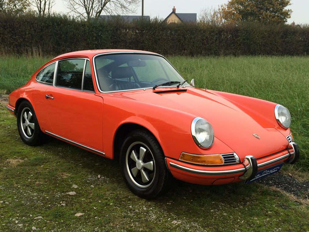 Porsche 911t 1970 lee mayor restorations