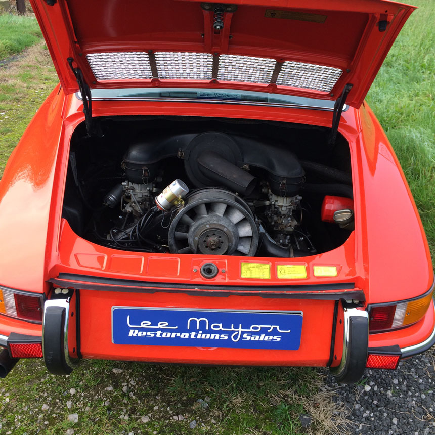 Porsche 911T 1970 Engine Back End