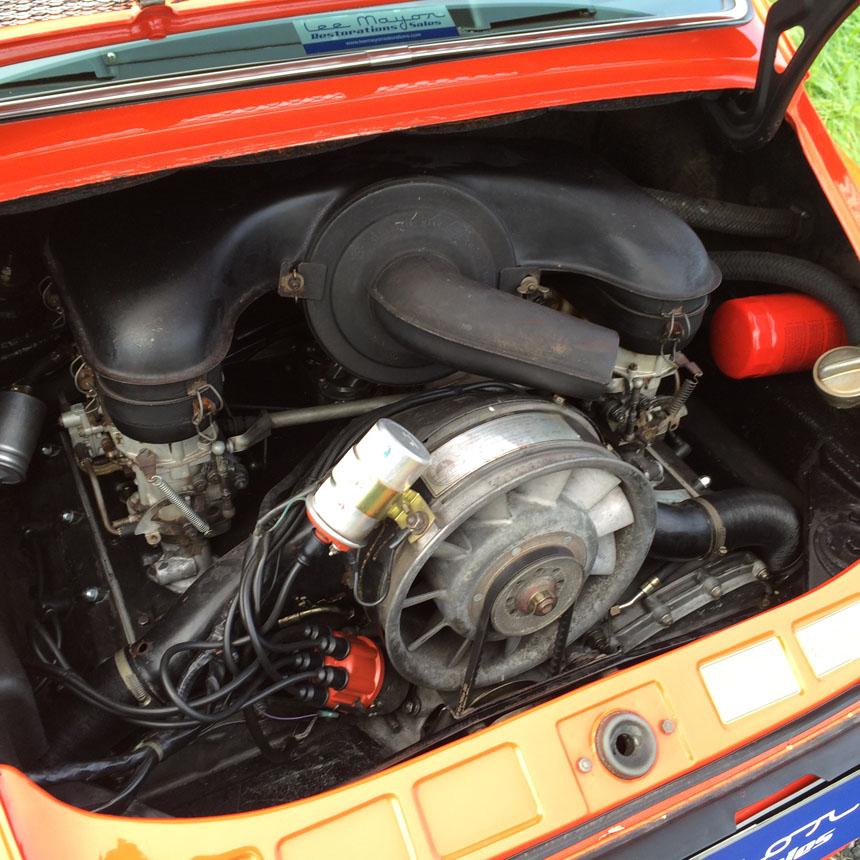 Porsche 911T 1970 Engine