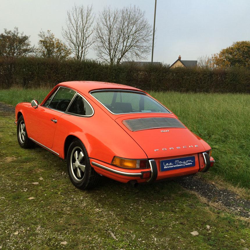 Porsche 911T 1970 Rear