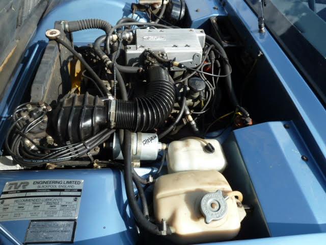 TVR Tasmin Engine