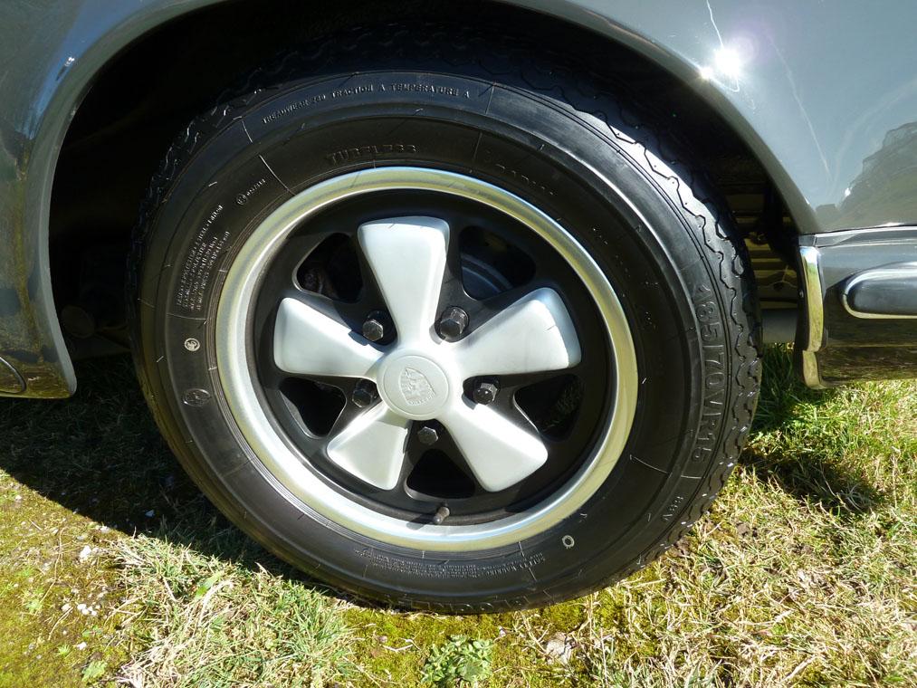 Porsche 911 T Slate Grey Fuch